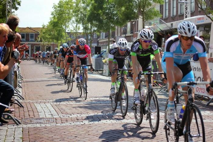 Daaf in actie in de Ronde van Noord-Beveland