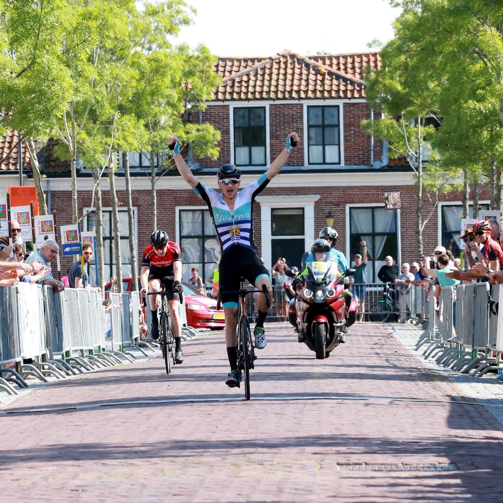 Jacob Wijnstra winnaar van de Ronde van Noord-Beveland