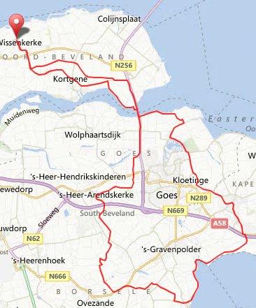 zondag 17 maart 71 km