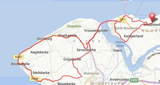 zondag 20-10-2013 68 km