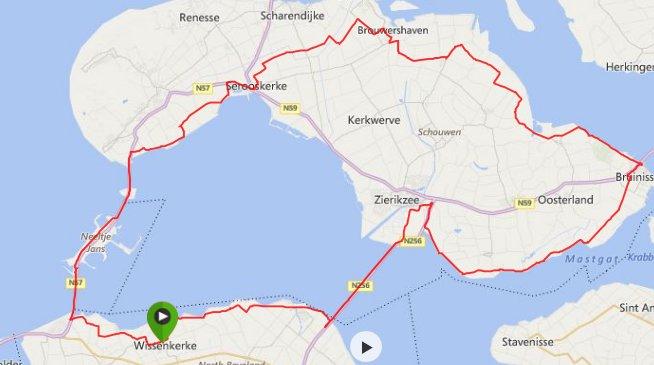 zondag 05-10-2014 88 km