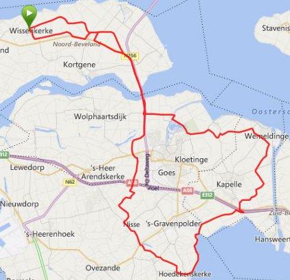 zondag 12-10-2014  73km