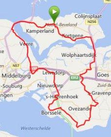 zondag 26-10-14  84 km 30,1 gemiddeld