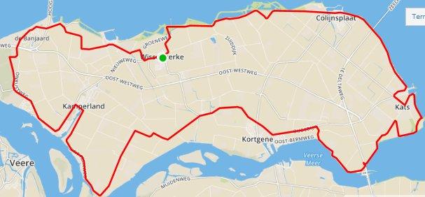 Donderdagavondrit 03-09-2015 53 km 30,2 gem