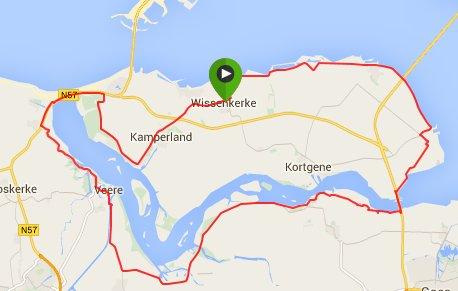 zondag 15-03-15  58 km 28 gemiddeld