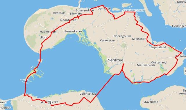 zondag 16-08-2015  94 km 31,9 gem