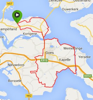 Zondag 24-05-15 93 km 30,2 gemiddeld