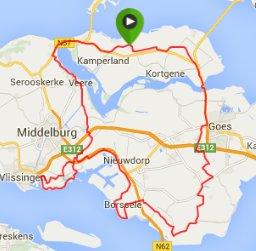 zondagrit 26-07-2015 ronde 102 km 30 gem