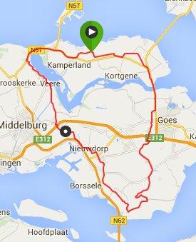 Zondag 28-06-2015  76 km 31,1 gem