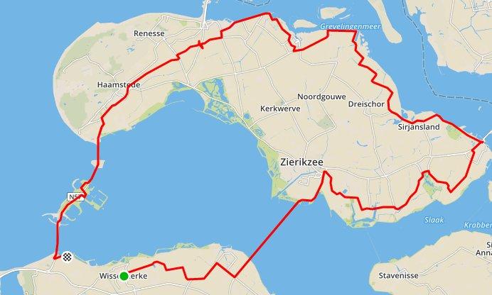zondag 11-10-2015 rit van 92 km en 30,7 gem