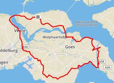 zondag 18-10-2015 96 km gem 30,3