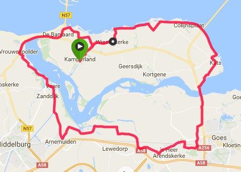 Rondje van 63 km en 31 gem.