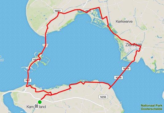 Donderdagavondrondje 57 km 31,5 gem