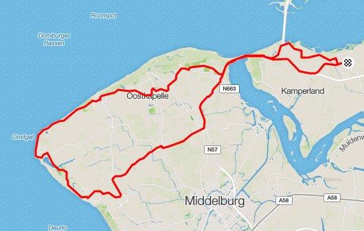 Donderdag 30-06-2016 61 km 28,7