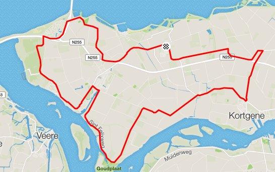 parcours tijdrit 35,5 km