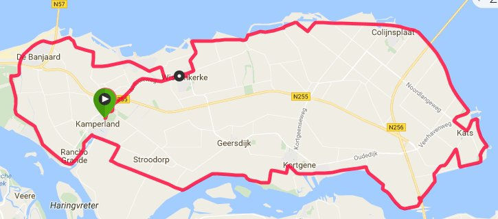 Donderdagavond 08-09-2016 51 km 30,8 gem