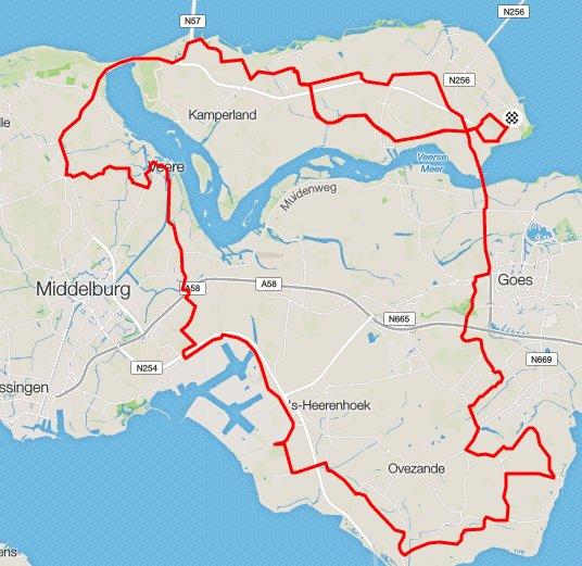 zondag 01-05-2016 94 km 29,9 gem