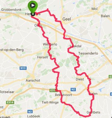 Route 115 km