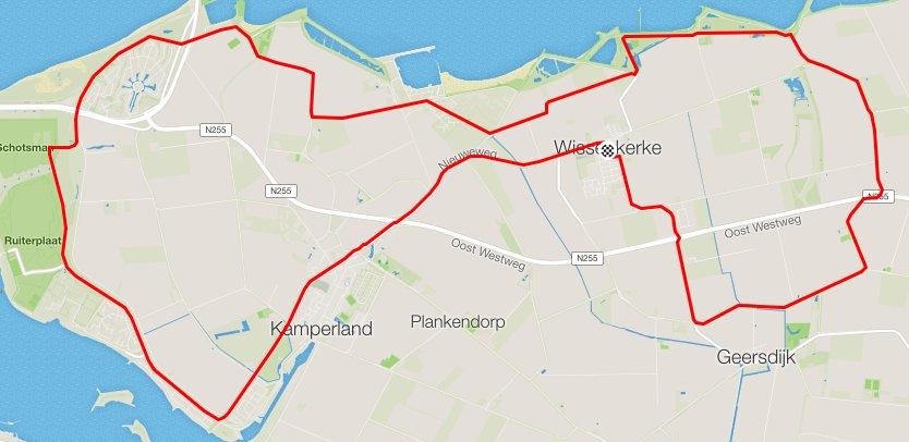 Donderdag 11-05-2017 28 km 27,6 gem.
