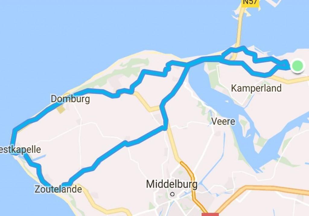 Donderdag 20-07-2017 59 km 29,6 gem.