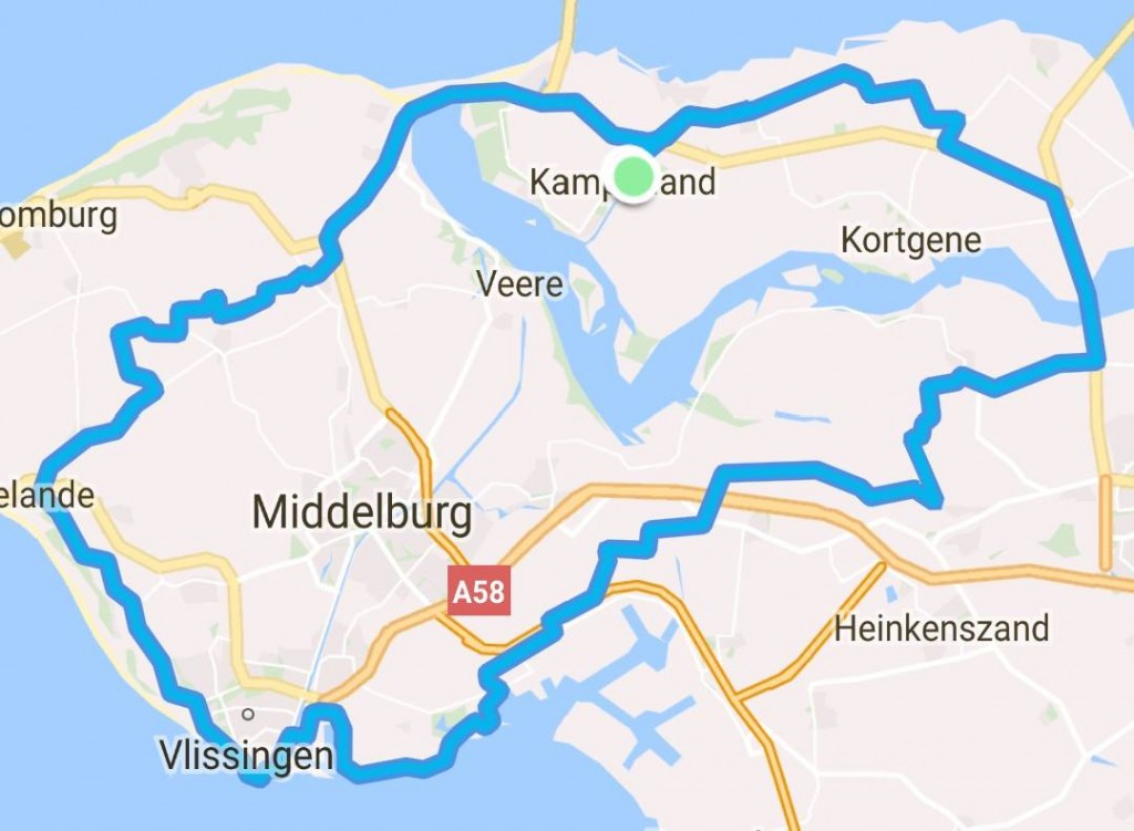 Rondje 83 km 30,6 gem Groep 1