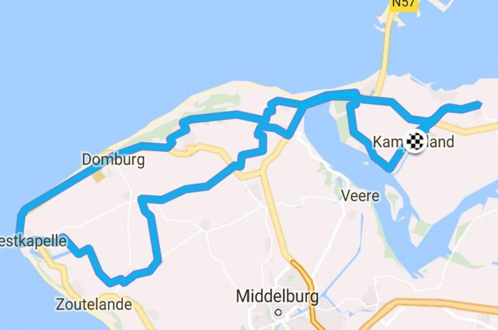 Donderdag 03-08-2017 64 km 32,3 gem.