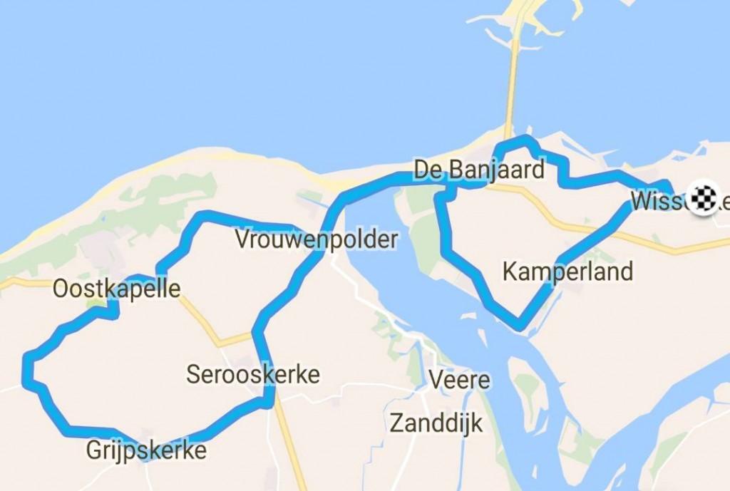 Donderdag 18-05-2017 46 km 31,2 gem.