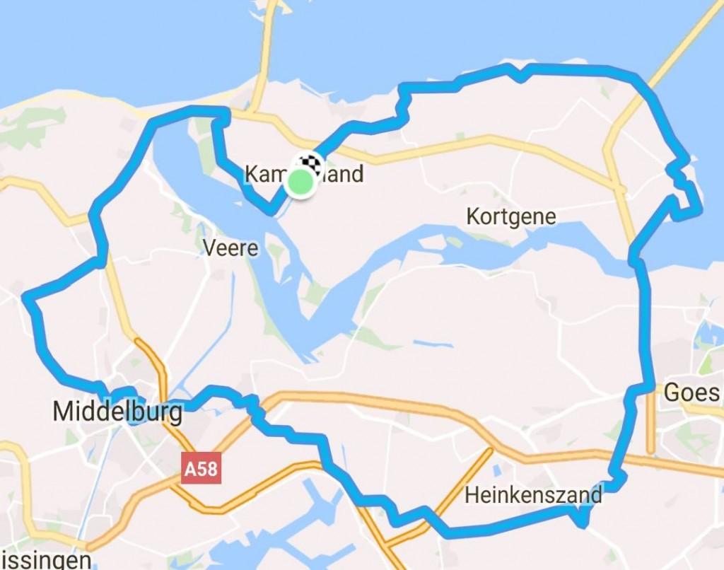 Zondag 16-07-2017 80 km 30,5 gem.