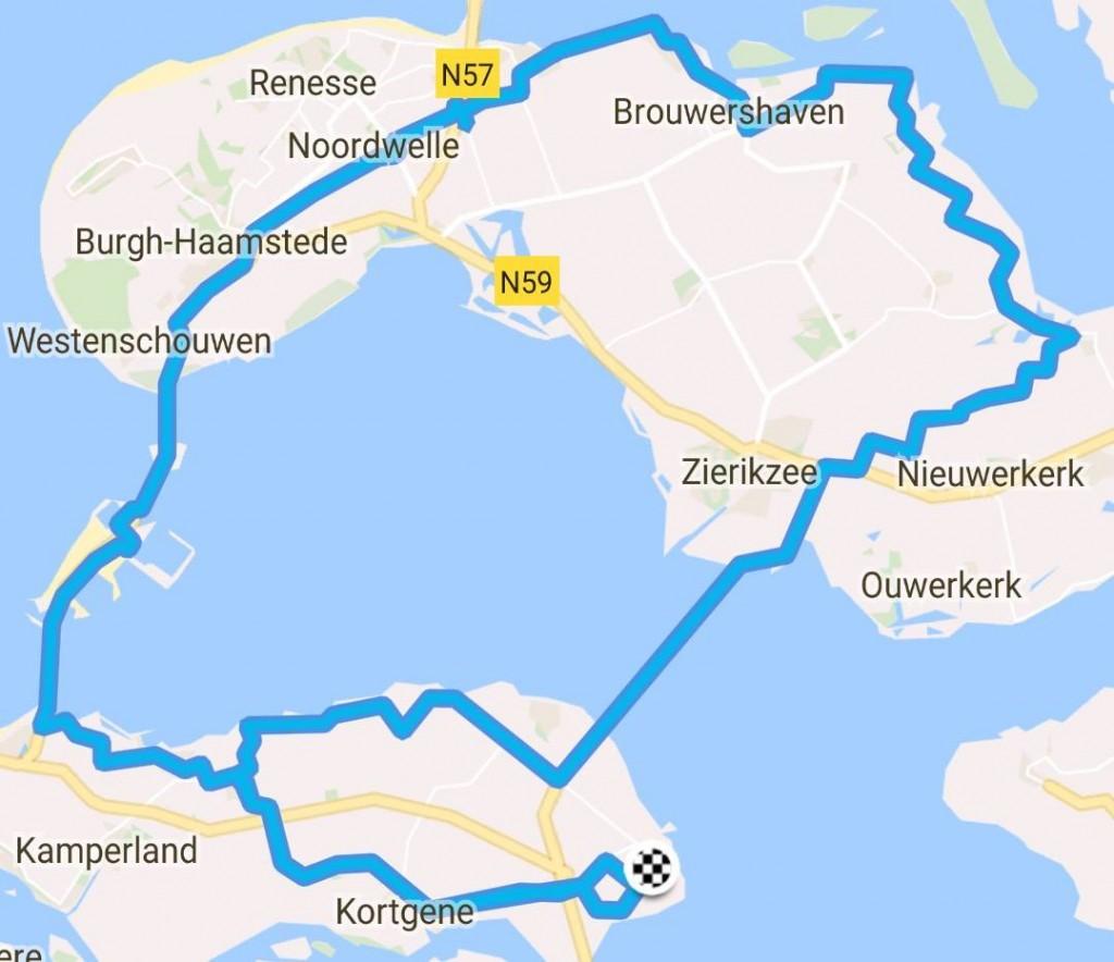 Zondag 18-06-2017 79 km 30,9 gem.