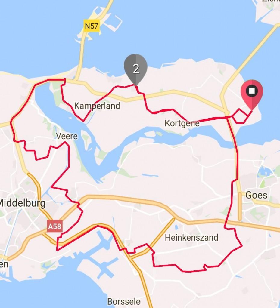 Zondag 23-07-2017 82 km 31,1 gem.