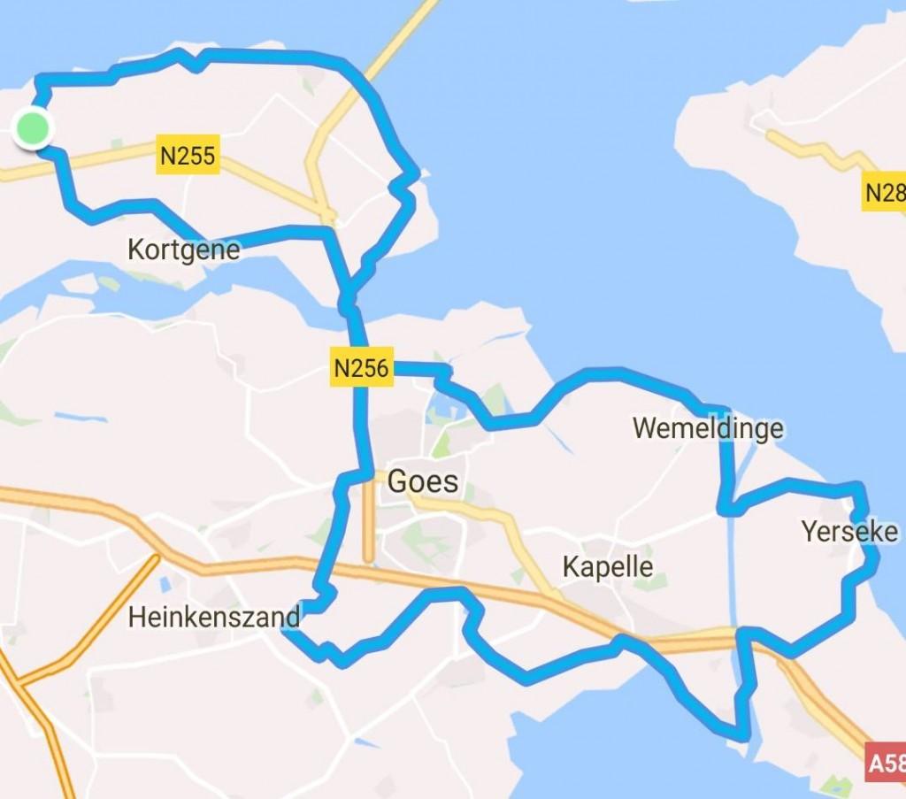 zondag 24-09-2017 85 km 30,7 gem.