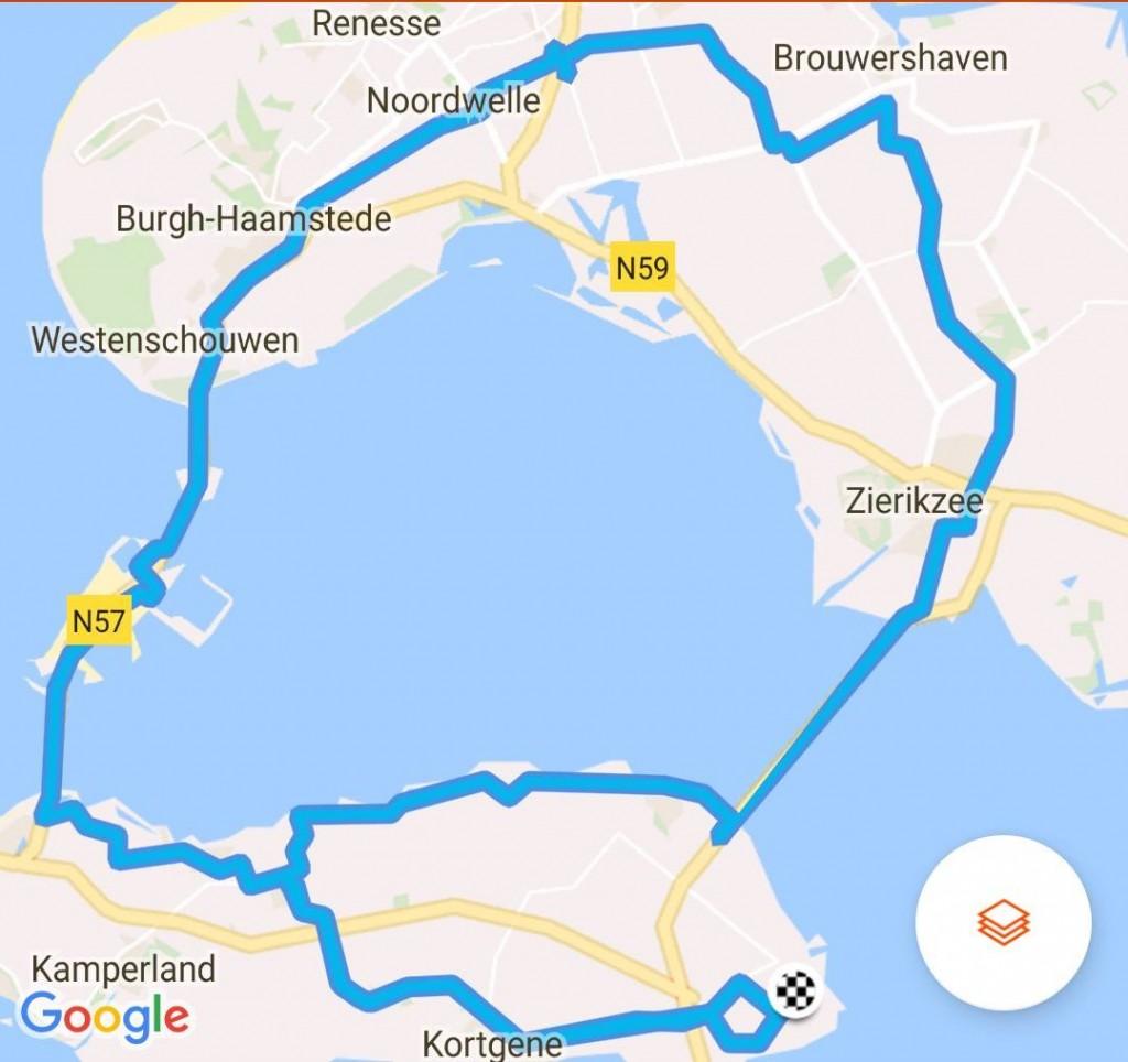 Dinsdag 02-05-2017 63,4 km 27,5 gem.