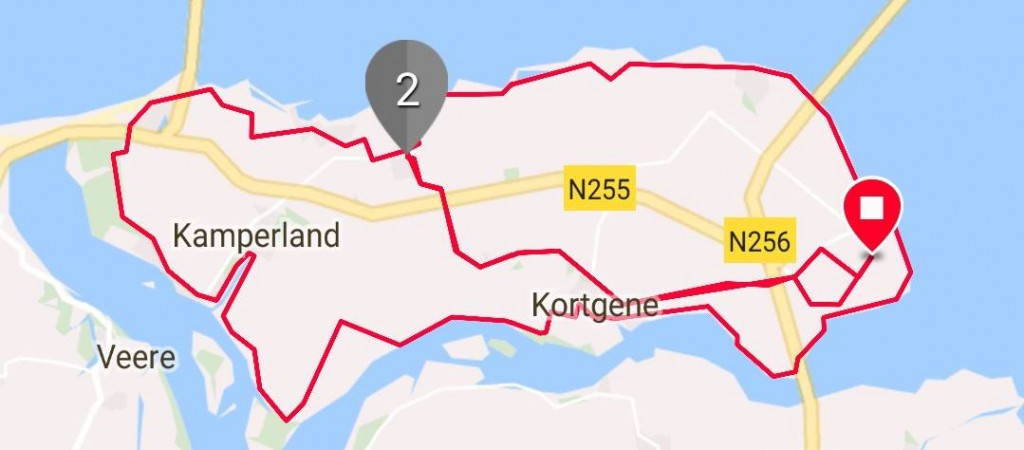 Dinsdag 03-10-2017 51 km