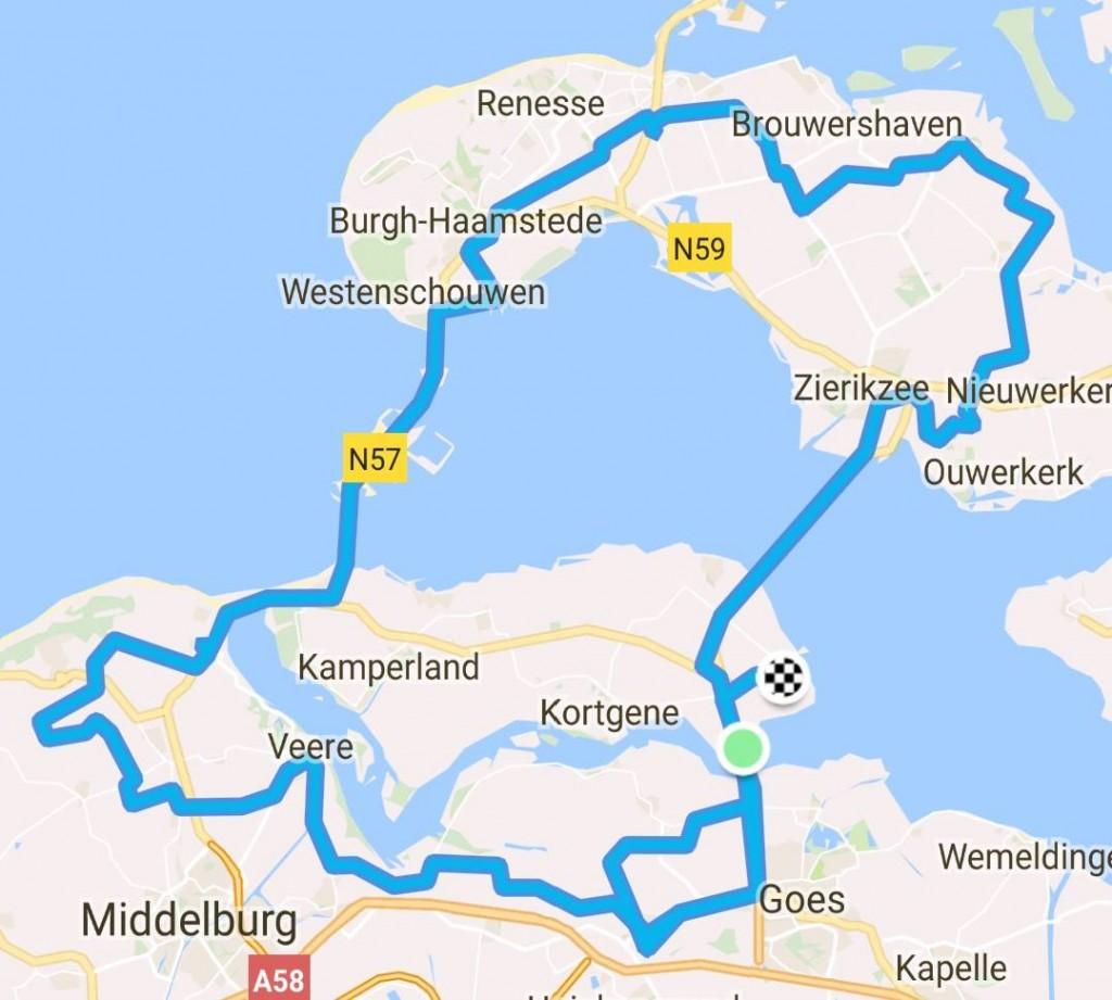 Toertocht Arendskerke 120 km