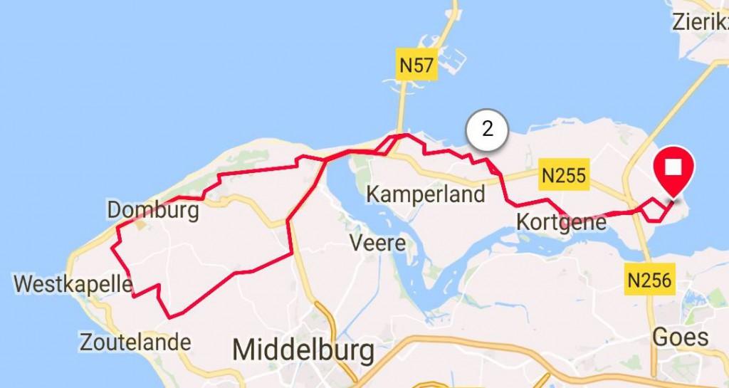 Dinsdag 01-05-2018 55km 27,1 gem.