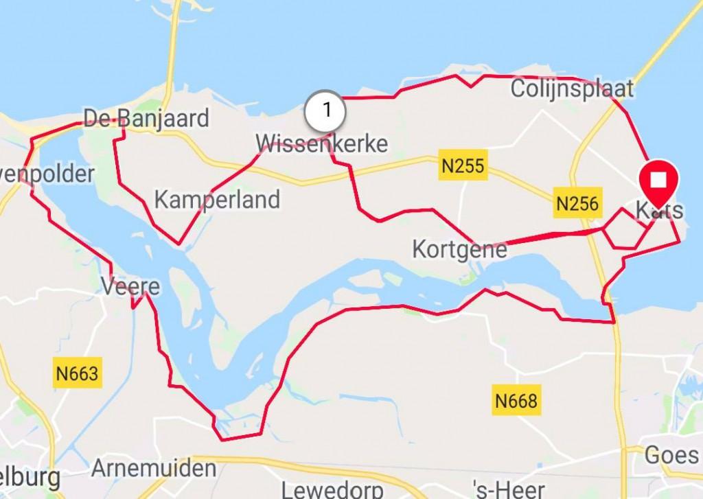 Dinsdag 04-09-2018 62 km 29,3 gem.