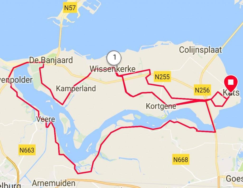 Dinsdag 12-06-2018 54 km 29.0 gem.