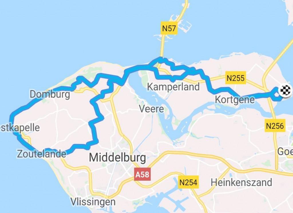 Dinsdag 19-06-2018 62 km 28,5 gem.