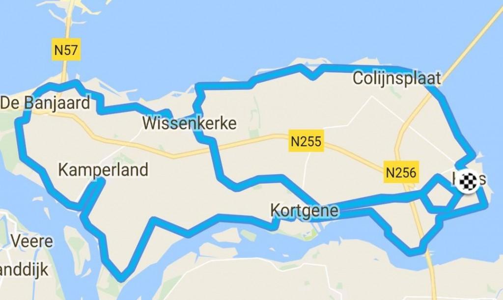 Rondje Noord-Beveland 50 km