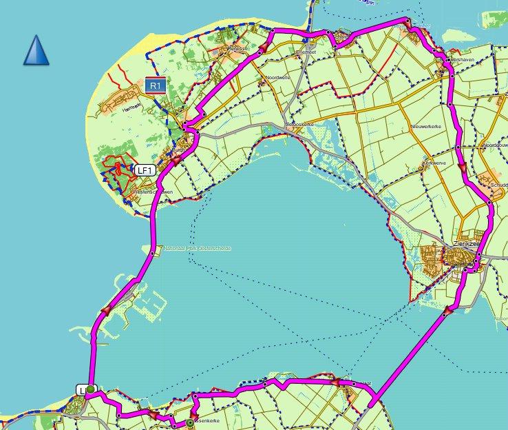 Donderdagavondrit Speedgroep 67 km 32,6 gem
