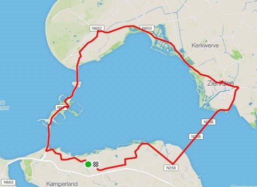 Donderdagavond 07-06-2018 56 km 32,3 gem.