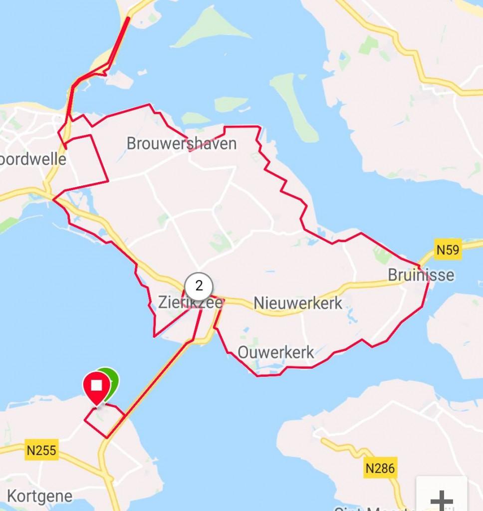 Giro di Schouwen-Duiveland 89 km 30,3 gem