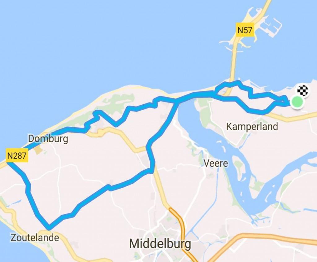 Zondag 13-05-2018 55 km 27,8 gem.