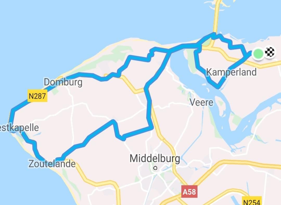 Donderdagavondrondje 66 km 31,6 gem.