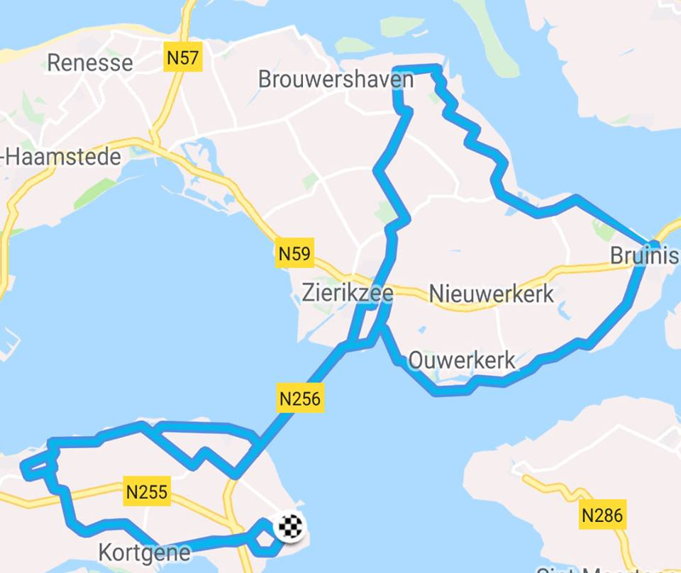 Zondag 24-03-2019 85 km 29,4 gem.