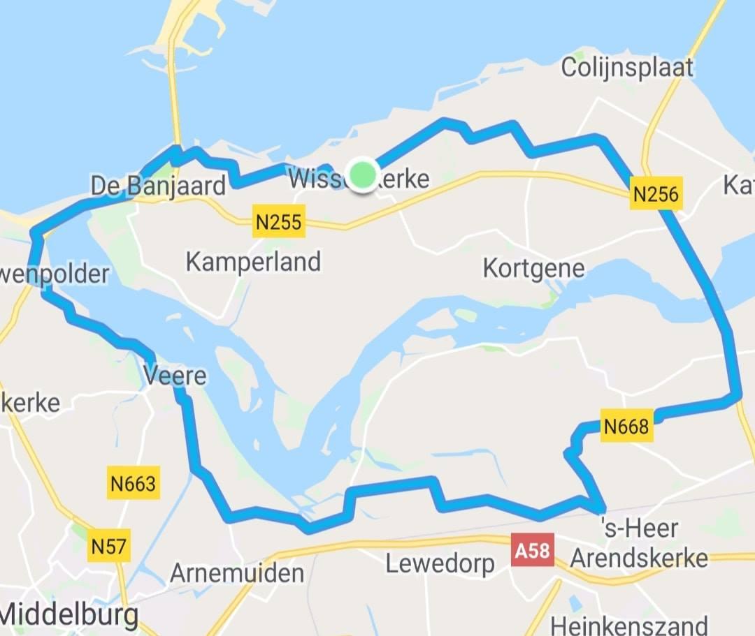 Zondag 28-04-2019 Rondje Veerse Meer