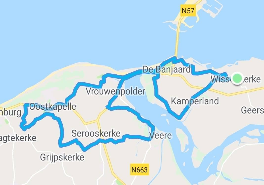 Donderdagavond 09-05-2019 56 km 32,2 gem.