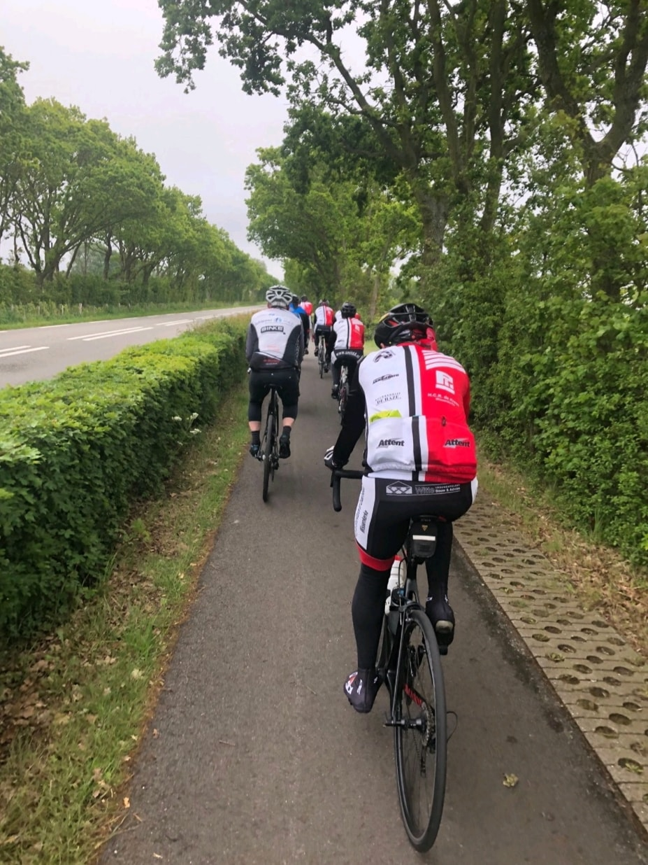 Onderweg vanaf domburg naar Oostkapelle